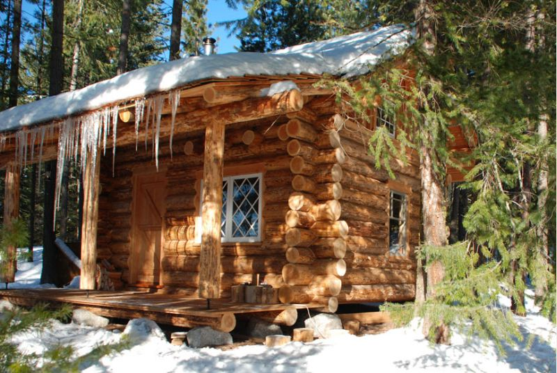 Log Home In The Woods ~ Three reasons why my nyc apartment smells like a cozy log