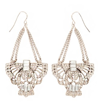 Cool These Pixie Market chandeliers remind me of the earrings Edie Sedgwick used to wear
