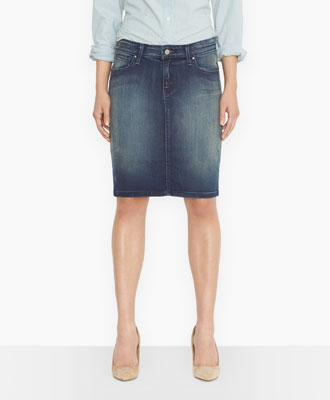 I Love A Good Denim Skirt | I WANT TO BE HER!