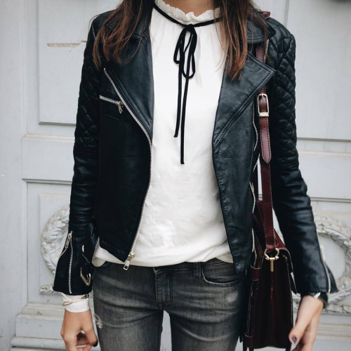 Outfit of the Week: Lady Biker