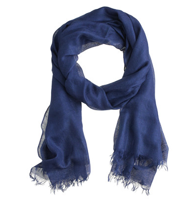 I love a light and airy scarf for less-than-freezing days. 66ca878343
